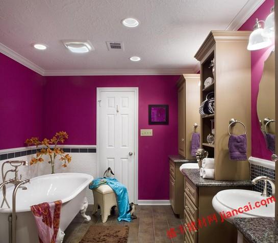 2013浴室最好的油漆配色方案