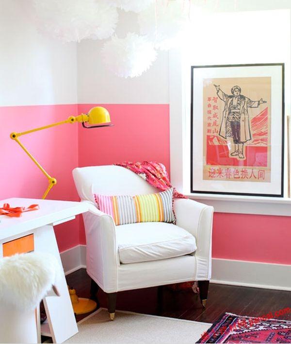 墙壁粉刷时颜色的选择