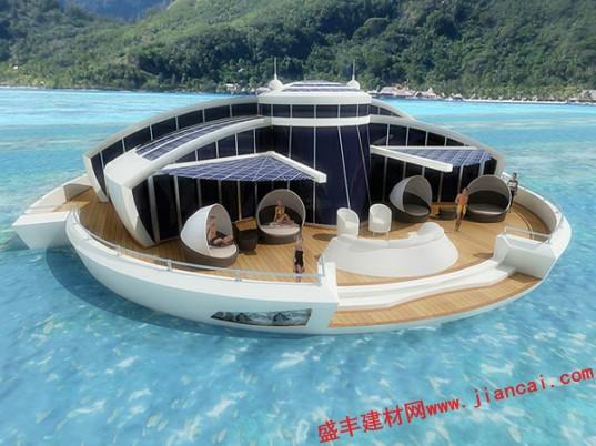 水上太阳能浮岛