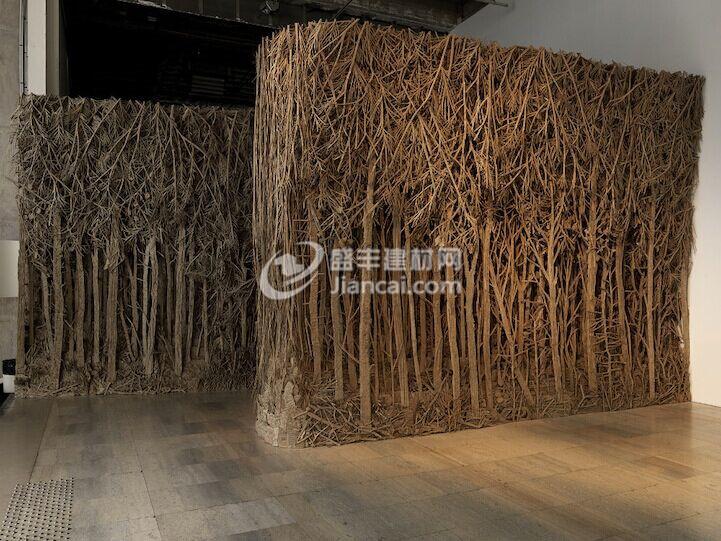 硬纸板制作迷人森林