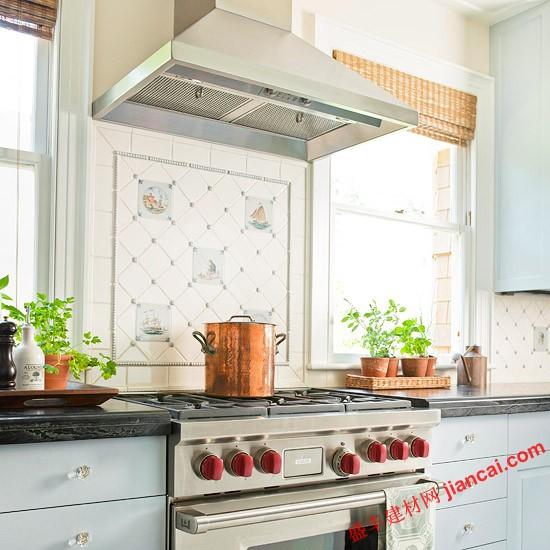 个性化欧式厨房瓷砖搭配