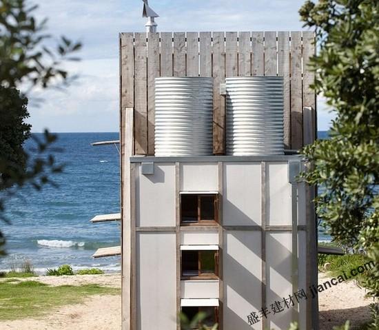 新西兰海边度假小屋设计