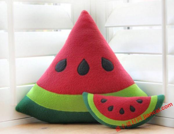 西瓜鞋子编织图
