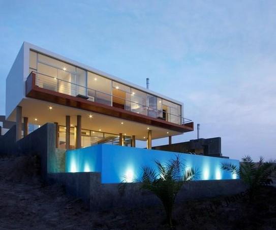 超现代海滨别墅设计