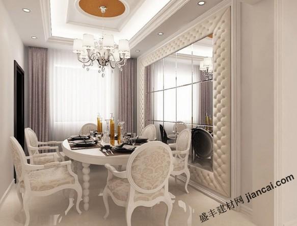 欧式风格的餐厅装修
