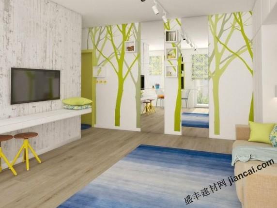 小清新风格的公寓设计 空间的巧妙拓展