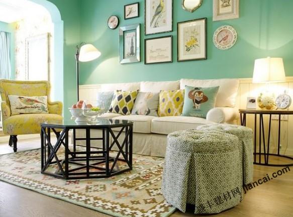 小清新风格的美式公寓设计