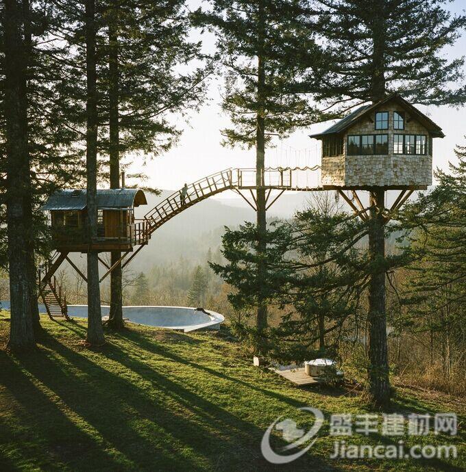 游牧摄影师创建自己的手工制作的树屋 – 科技前沿
