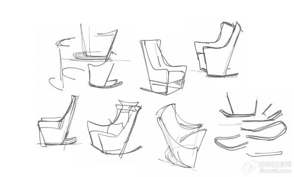 动物坐椅子图片大全简笔画