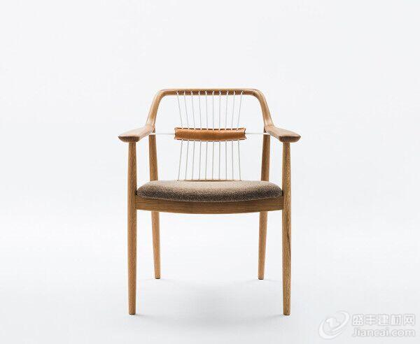 现代手工制作的椅子