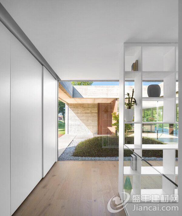 长方形公寓设计图
