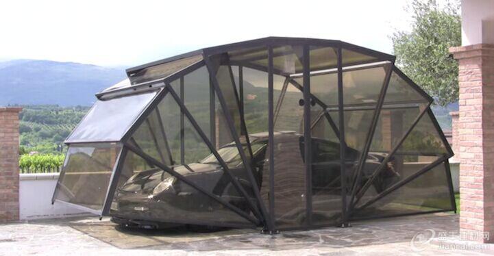 欧式铁艺自行车棚