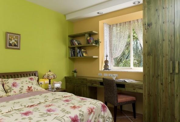 卧室装饰层板效果图