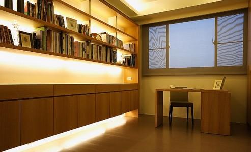 书柜装潢灯光设计