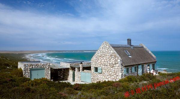 南非西海岸的海边石头别墅