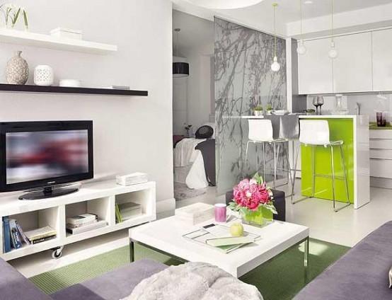 40平米户型的室内设计