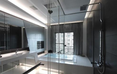 金基观岛-四居室-139平米-卫生间装修效果图; 淋浴房; 卫生间装修要