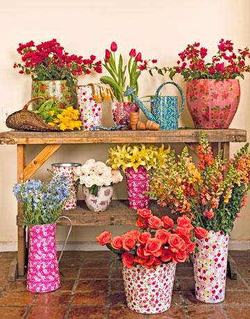 花卉家居饰品打造独一无二的房子