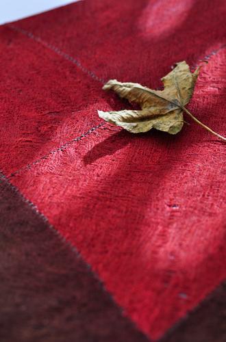 采用树皮内层的纤维经过