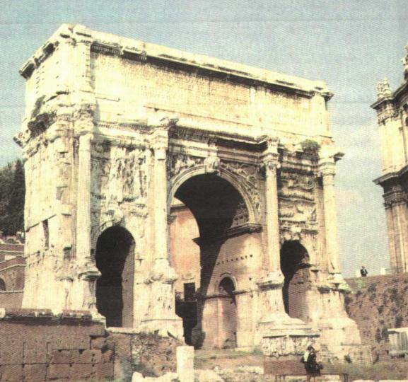 券柱式凯旋门图片