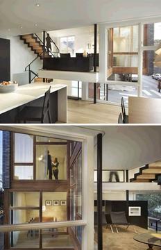 新错层式房屋平面图