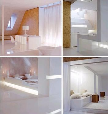 白色小户型的室内空间设计
