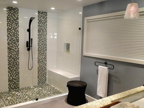 步入式淋浴室