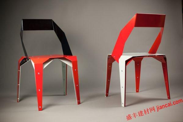 折纸椅子 源于艺术的创造图片