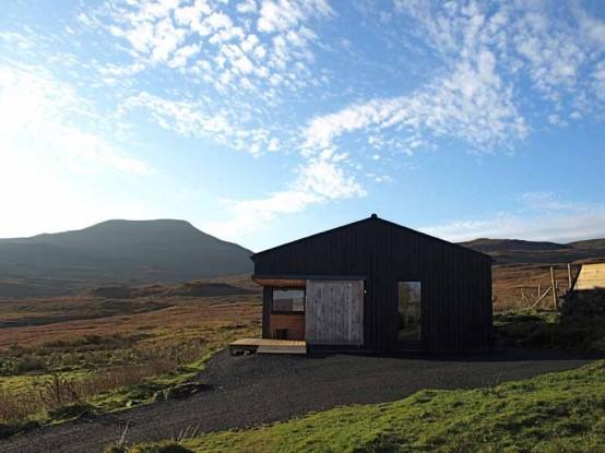 黑棚小预算的小房子设计