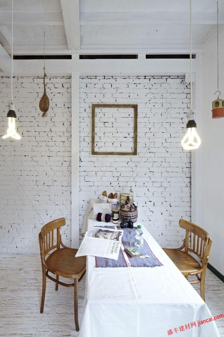 白色砖墙成为日益流行的趋势