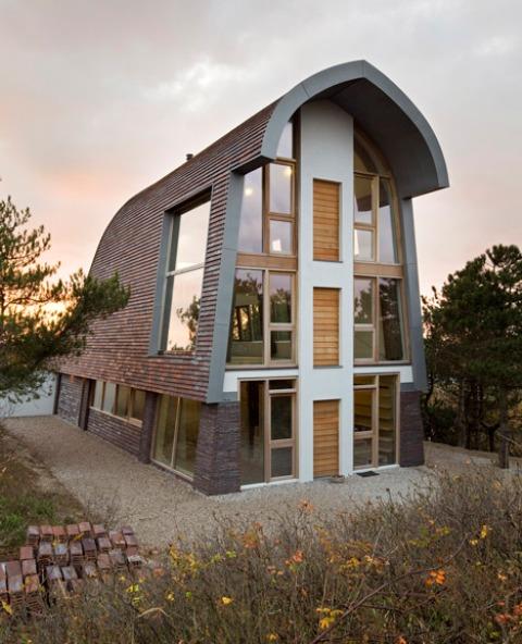 别墅屋顶斜面造型