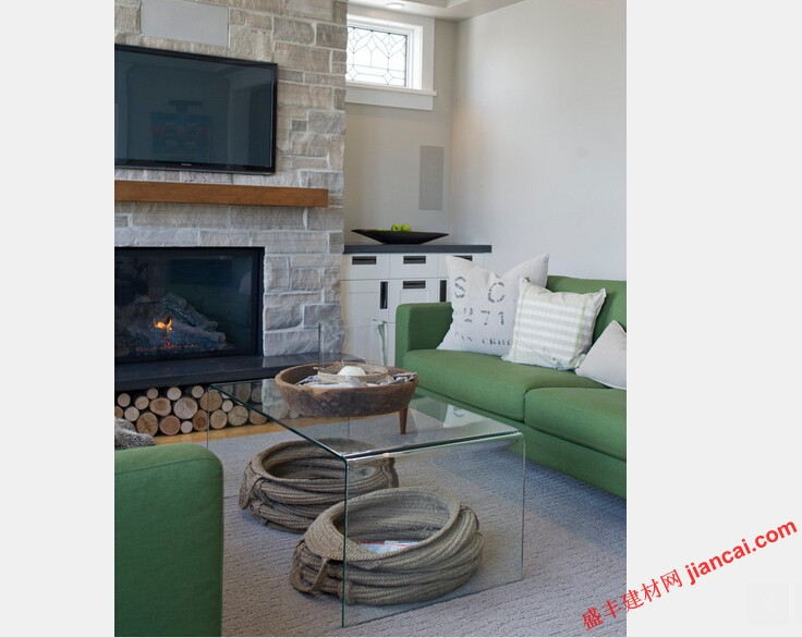 室内设计师索菲亚雷伊表示,这些客户都非常喜欢悠闲和舒适.