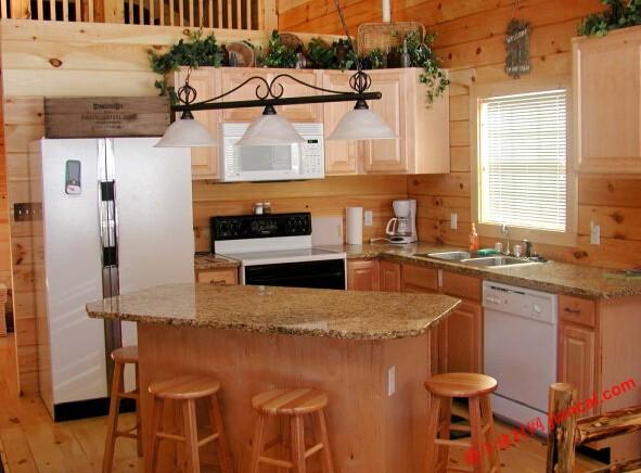 花岗岩台面是厨房改造的重点项目