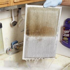 油烟机滤网清洗_清洗抽油烟机滤油网:汽车脱脂剂