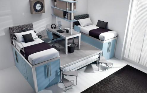 扩容空间 就要选对复式家具 3dmax室内设计视频教程 高清图片