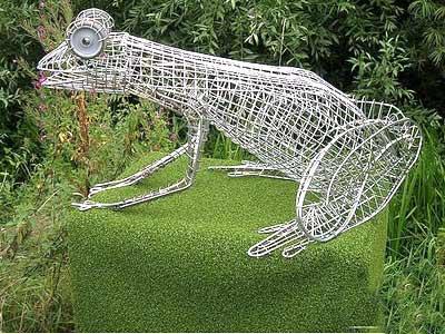 铁艺动物骨架