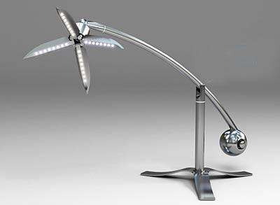 仿生台灯设计产品