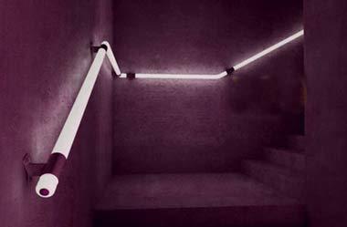 发光的楼梯 引领led照明时尚(组图) – 灯具照明