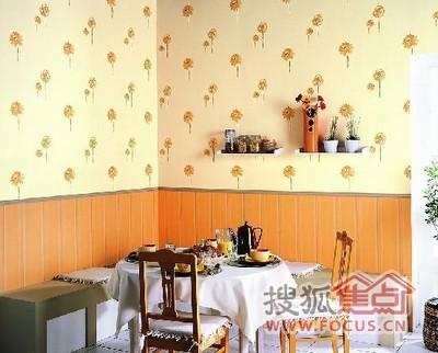 2010家居装修流行彩色壁纸 装修新房值得一看