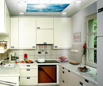 厨房风景吊顶图片